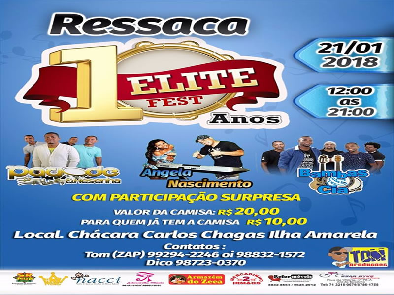 Ressaca do Elite Fest