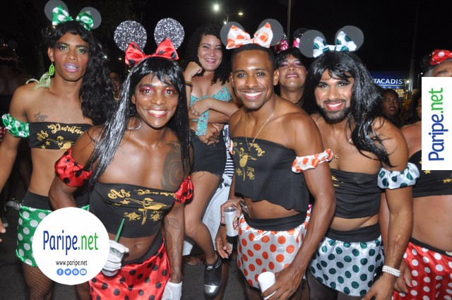 As Puritanas no Carnaval de Paripe 2018