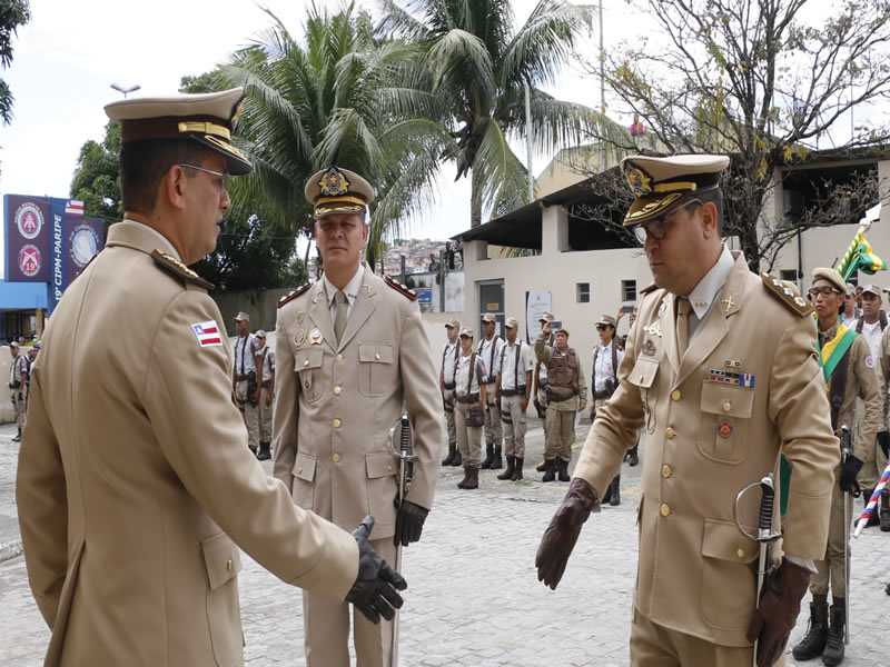 Major Robson Souza assume o comando da 19ª CIPM de Paripe