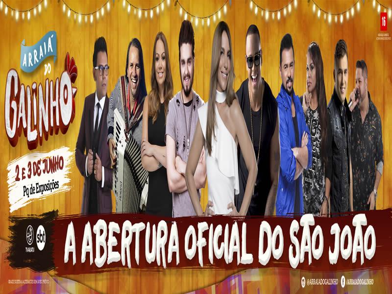 a0badefeaba29 Arraiá do Galinho reunirá grandes nomes da música nacional em Salvador